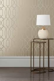 buy champagne surface print lattice geo wallpaper from the next uk