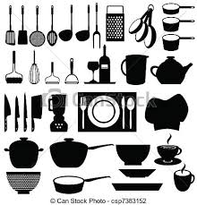 ustensil cuisine kitchen utensils and tools kitchen and cooking tools vector