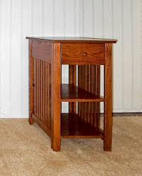 Oak End Tables Mission Style End Table De Vries Woodcrafters