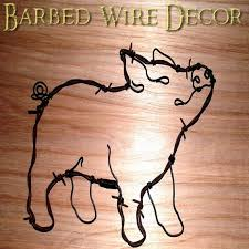 Barbed Wire Home Decor 110 Best Barbed Wire Designs Images On Pinterest Barbed Wire Art
