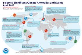 april marked the 388th month in a row that the global temperature
