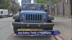 jeep gray blue thieves targeting jeep wrangler batteries in fairmount spring