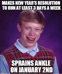Brian Memes - bad luck brian s 2016 new years resolution memes pinterest