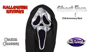 halloween reviews ghostface 25th anniversary mask youtube