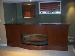 Fish Tank Reception Desk Fitak Custom Woodworking Inc Napanee Ontario Kitchen Cabinets