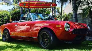 fiat spider 1978 electric fiat 124 spider electric gt
