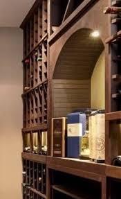 wine cellar table rustic designed home custom wine cellar built using wooden racks