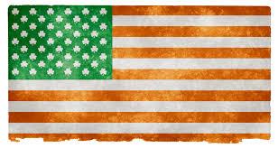Irrland Flag Irish American Grunge Flag