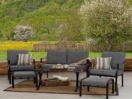 Overstock Patio Furniture Sets - patio 61 wicker loveseat namco patio furniture resin wicker