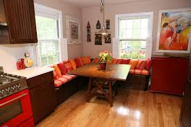 kitchen booth for big space the new way home decor