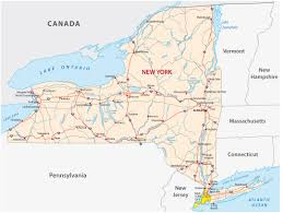 State Of New York Map by Map Of New York