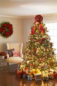 decorating christmas trees traditional home
