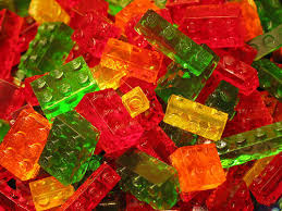 edible legos lego brick shaped gummy candies 5 steps with pictures