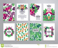 tropical printable set stock vector image of palm jungle 68156001