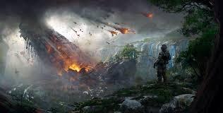 wallpaper titanfall 2 soldier destruction concept art 4k