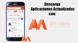 mirror apk descarga aplicaciones actualizadas apkmirror 2016