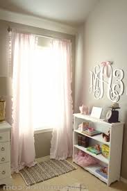 Light Pink Curtains For Nursery Baby Pink And Gray Curtains Nursery Childrens Curtain Panels