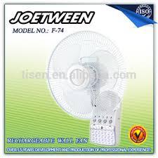 14 inch wall fan 14 inch rechargeable battery operated wall fan with light f74 buy