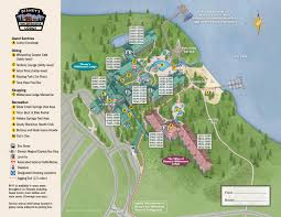 Disney Florida Map by Resort Maps Magical Distractions