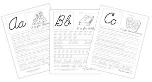 bible abc worksheets