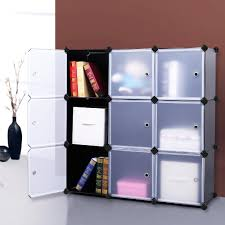 amazon com songmics 3 tier diy storage cube organizer closet 9
