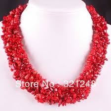 necklace stone bead images Classical natural red coral chips 4x8mm charms irregular semi jpg