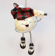 fancy golf ornaments charming ideas fishwolfeboro