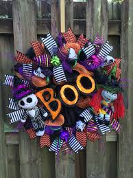 nightmare before christmas wreathnbc halloween wreath jack