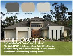 Home Colour Schemes Exterior - haymes paint exterior colour scheme colourbond woodland grey is