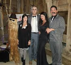 Gomez Halloween Costume Addams Family Morticia Gomez Lurch Wednesday Cousin