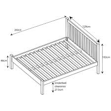 White Small Double Bed Frame by Buy John Lewis Wilton Bed Frame Small Double John Lewis