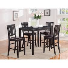 Counter Height Dining Room Sets Chair Parawood Furniture Buckland 30x48 Black Counter Height