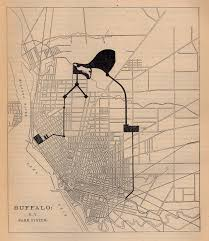 Buffalo State Map by