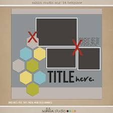 free digital scrapbooking template u2013 august 2014 sahlin studio