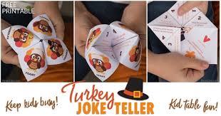 easy activity thanksgiving joke teller bren did