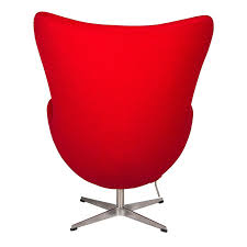 amazon com leisuremod arne jacobsen egg style modern accent chair