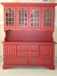 best 25 red hutch ideas on pinterest painted hutch china