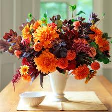 halloween floral centerpieces orange flower arrangements martha stewart