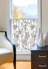Artscape New Leaf Decorative Window Film by Amazon Com Artscape Iris Window Film 24