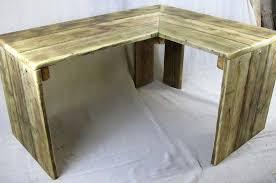 Corner Desks Corner Desks Chunky Reclaimed Furniture Handmade In Somerset