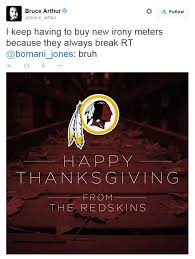 washington redskins besieged on happy thanksgiving