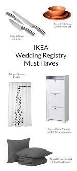 wedding registry store ikea wedding list wedding idea womantowomangyn