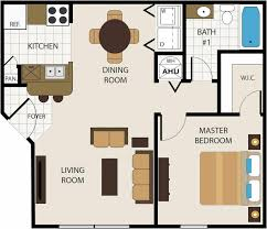 3 bedroom 2 bath apartment floor plans caruba info