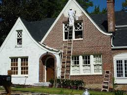 13 best painted brick tudor style homes images on pinterest