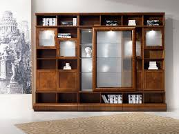 Living Room Cabinets With Glass Doors Wooden Display Cabinet For Living Room