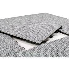 blocktile 12x12 inch interlocking premium gray carpet tiles 20