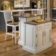 kitchen islands oak two tier kitchen island and stools set in white and oak 5010 948