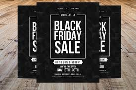 minimal black friday flyer template flyer templates creative