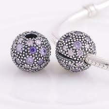 pandora charm bracelet clip images Fits pandora charms bracelet 925 sterling silver fancy purple jpg
