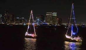 missed the boats see parade of lights in 2 minutes times of san